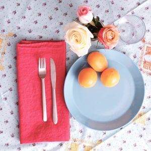 Oh stop it you beautiful French napkin! Photo: Reuben Reynoso